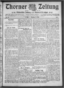 Thorner Zeitung 1910, Nr. 166 1 Blatt