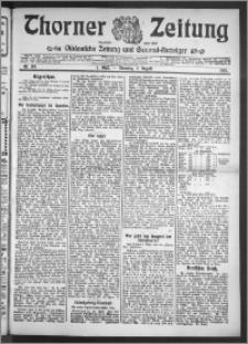 Thorner Zeitung 1910, Nr. 178 1 Blatt