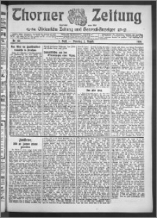 Thorner Zeitung 1910, Nr. 178 2 Blatt