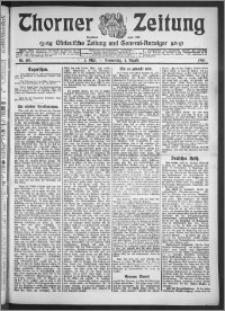 Thorner Zeitung 1910, Nr. 180 1 Blatt