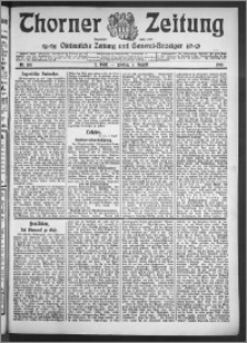 Thorner Zeitung 1910, Nr. 181 2 Blatt