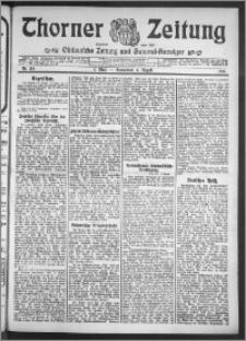 Thorner Zeitung 1910, Nr. 182 1 Blatt