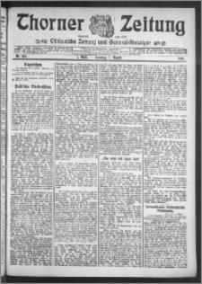 Thorner Zeitung 1910, Nr. 183 1 Blatt