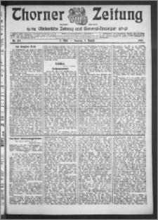 Thorner Zeitung 1910, Nr. 183 2 Blatt