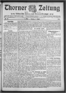 Thorner Zeitung 1910, Nr. 184 1 Blatt
