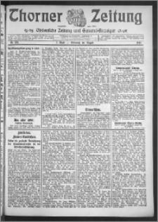 Thorner Zeitung 1910, Nr. 185 2 Blatt