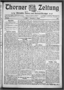 Thorner Zeitung 1910, Nr. 186 1 Blatt