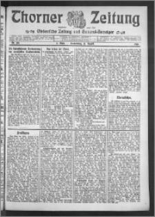 Thorner Zeitung 1910, Nr. 186 2 Blatt