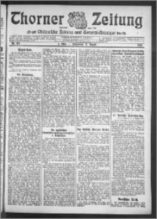 Thorner Zeitung 1910, Nr. 188 1 Blatt