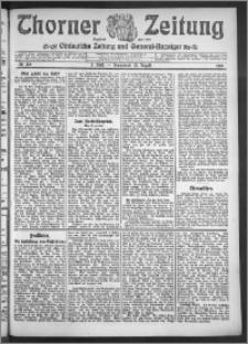 Thorner Zeitung 1910, Nr. 188 2 Blatt