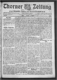 Thorner Zeitung 1910, Nr. 189 1 Blatt