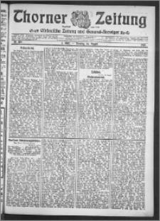 Thorner Zeitung 1910, Nr. 189 2 Blatt