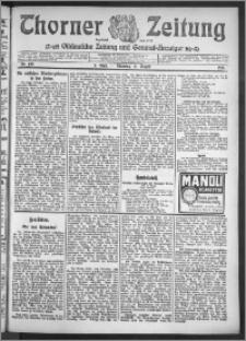 Thorner Zeitung 1910, Nr. 190 2 Blatt