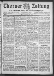 Thorner Zeitung 1910, Nr. 192 1 Blatt