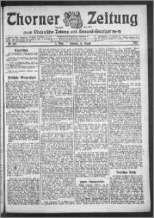 Thorner Zeitung 1910, Nr. 195 1 Blatt
