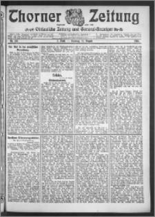 Thorner Zeitung 1910, Nr. 195 2 Blatt