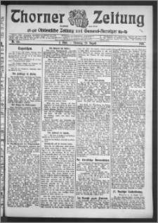 Thorner Zeitung 1910, Nr. 196 1 Blatt
