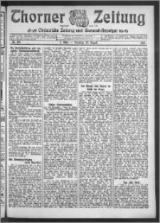 Thorner Zeitung 1910, Nr. 196 2 Blatt