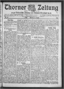 Thorner Zeitung 1910, Nr. 197 1 Blatt