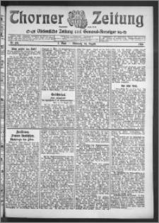 Thorner Zeitung 1910, Nr. 197 2 Blatt