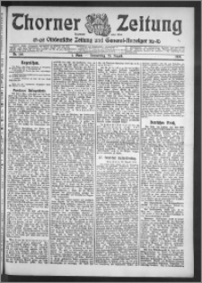 Thorner Zeitung 1910, Nr. 198 1 Blatt