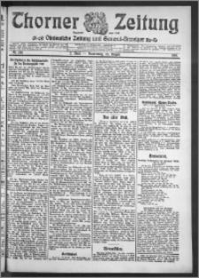 Thorner Zeitung 1910, Nr. 198 2 Blatt