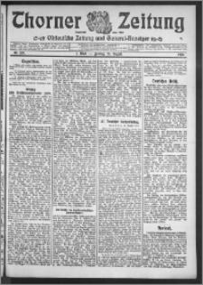 Thorner Zeitung 1910, Nr. 199 1 Blatt