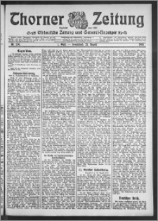 Thorner Zeitung 1910, Nr. 200 1 Blatt