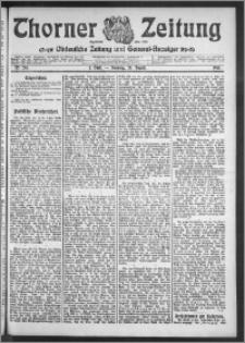 Thorner Zeitung 1910, Nr. 201 1 Blatt