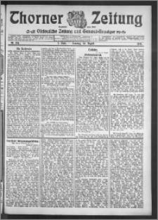 Thorner Zeitung 1910, Nr. 201 2 Blatt