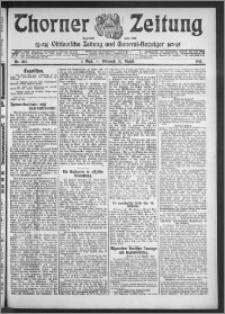 Thorner Zeitung 1910, Nr. 203 1 Blatt