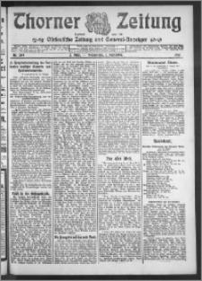 Thorner Zeitung 1910, Nr. 204 2 Blatt