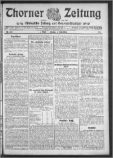 Thorner Zeitung 1910, Nr. 205 1 Blatt