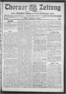 Thorner Zeitung 1910, Nr. 206 1 Blatt