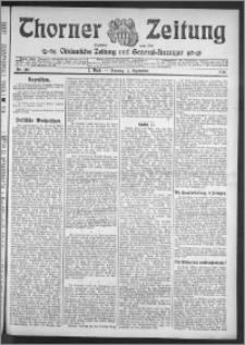 Thorner Zeitung 1910, Nr. 207 1 Blatt