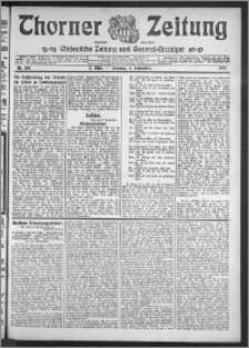 Thorner Zeitung 1910, Nr. 207 2 Blatt