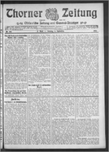 Thorner Zeitung 1910, Nr. 207 3 Blatt