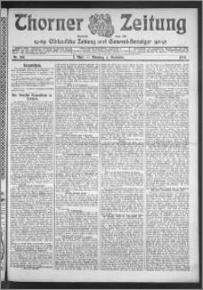 Thorner Zeitung 1910, Nr. 208 1 Blatt