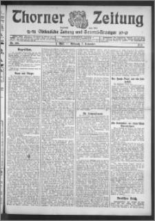 Thorner Zeitung 1910, Nr. 209 1 Blatt