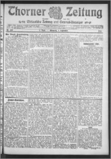 Thorner Zeitung 1910, Nr. 209 2 Blatt