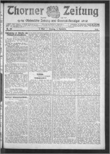 Thorner Zeitung 1910, Nr. 213 2 Blatt