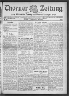 Thorner Zeitung 1910, Nr. 216 1 Blatt