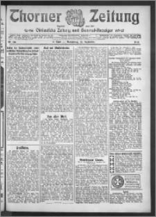 Thorner Zeitung 1910, Nr. 216 2 Blatt