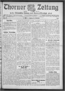 Thorner Zeitung 1910, Nr. 219 1 Blatt