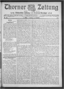 Thorner Zeitung 1910, Nr. 219 2 Blatt