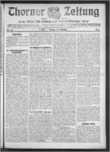 Thorner Zeitung 1910, Nr. 220 1 Blatt