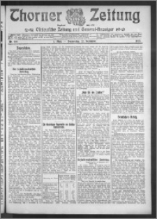Thorner Zeitung 1910, Nr. 222 1 Blatt