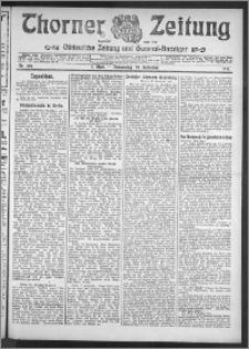 Thorner Zeitung 1910, Nr. 228 1 Blatt