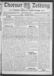 Thorner Zeitung 1910, Nr. 233 1 Blatt
