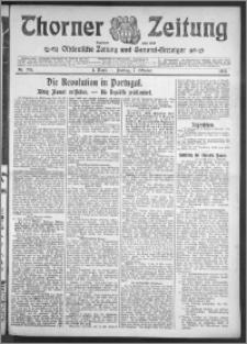 Thorner Zeitung 1910, Nr. 235 1 Blatt